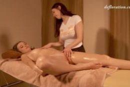 Po pracy zasłużyła na masaż