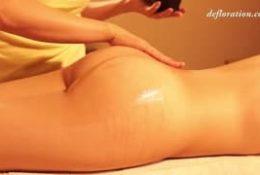 Taki masaż dostała na jaki zasłużyła