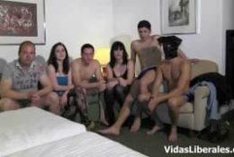 Orgia z napalonymi suczkami