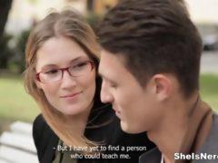 Seks z angielską studentką