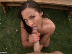 Lodzik i sex w parku