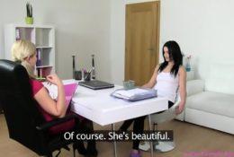 Bardzo szybko obsłużyła swoją szefową