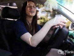 Masturbacja podczas jazdy samochodem