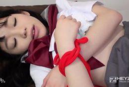 Japońska cipeczka gotowa do zerżnięcia